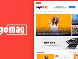 Best Magazine Blogger Template Free Download