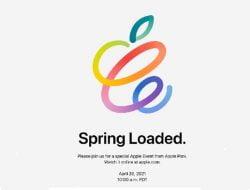 Apple Sebar Undangan Acara 20 April 2021